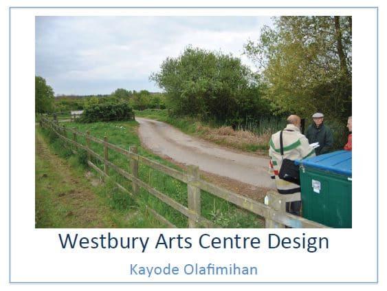 Design proposal for Westbury Arts Centre permaculture plot