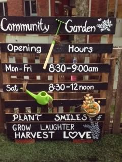 Community Garden: Plant Smiles, Grow Laughter, Harvest Love