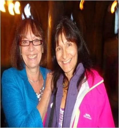 Sahira and Pam Warhurst, Incredible Edible