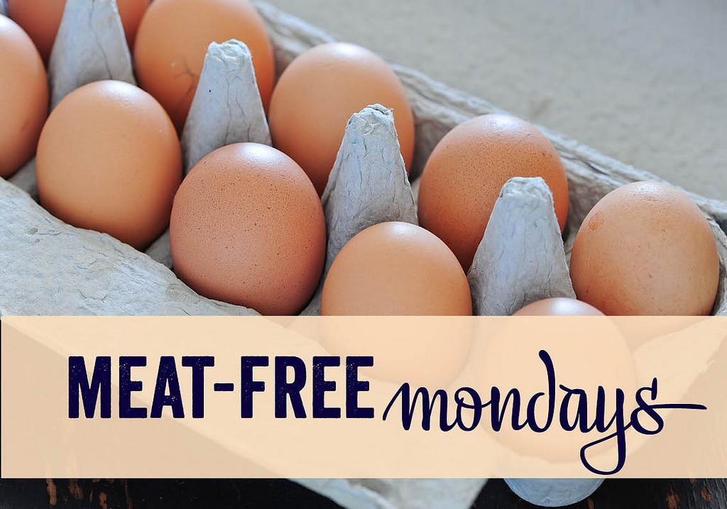 Try meat free Mondays