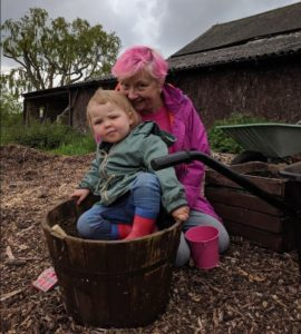 Growing people in our Milton Keynes permaculture community garden