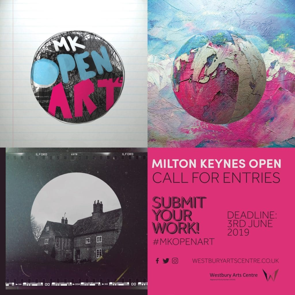 MK Open Art Exhibition flier
