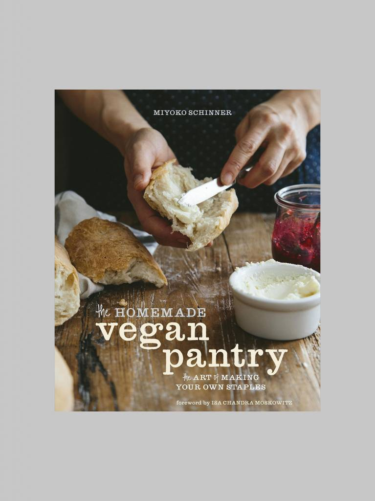The Homemade Vegan Pantry by Miyoko Schinner