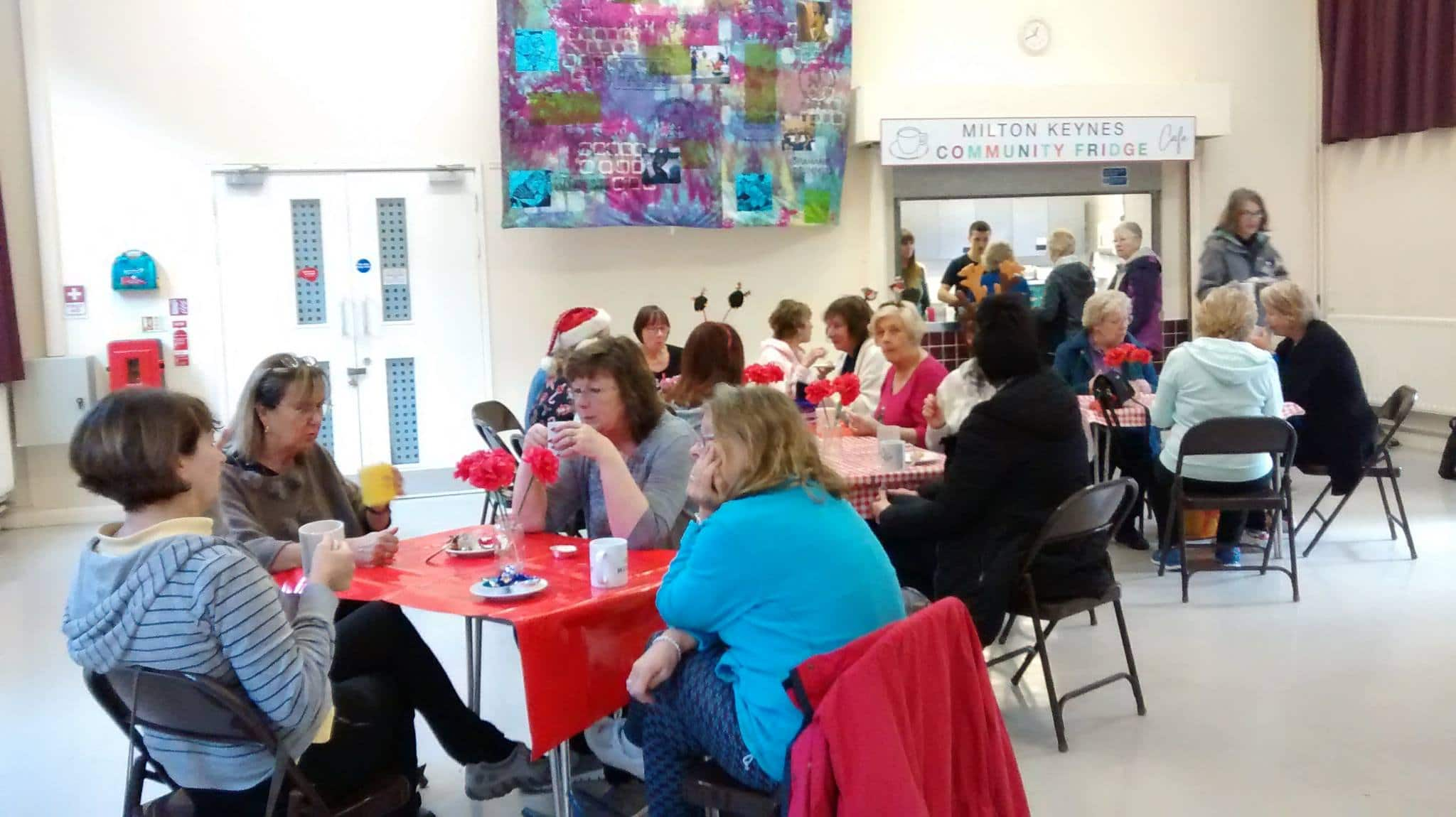 Wolverton Community Fridge Pop-Up Cafe