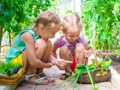 Gardening with children